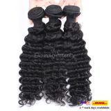 Cheveux humains 100% de cheveux brésiliens non-traités de prolongation de cheveux de Vierge