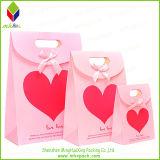 Corazón caliente rojo precioso regalo de empaquetado Bolsa de Compras