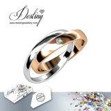 Het Kristal van de Juwelen van het lot van de Ware Ring van de Liefde Swarovski
