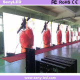 높은 정의 광고를 위한 실내 호리호리한 풀 컬러 임대 단계 LED 영상 벽 (P2.976)