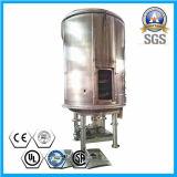 Continuar o secador da placa para produtos químicos inorgánicos da secagem
