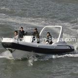 Bateau gonflable de côte de bateau de touristes de bateau de passager de vitesse de Liya 25ft