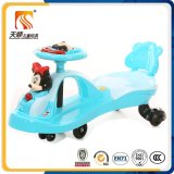 2016 China Plastic Wheel Music Swing Car en haute qualité