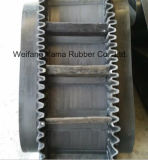 Poliestere Rubber Conveyor Belt con Width 500mm a 2400mm Thickness 3mm - 15mm