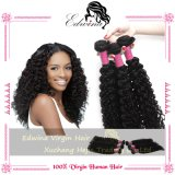 7A GradeブラジルのCurly Virgin Hair Bundles、ブラジルのVirgin Hair Human Hair Weave