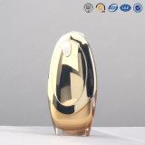 銀製の金の品質の空想プラスチックアクリルの装飾的で空気のないポンプびんのBbのクリームのびんおよび瓶