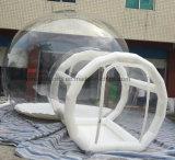Heißes Verkaufs-Cer prüft aufblasbares Zelt, das transparente Luftblasen-Zelt, Luxuxhochzeits-Zelte