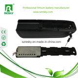 pack batterie de lithium de polymère de 36V 10ah pour la bicyclette 250W électrique