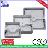 el panel del LED/lámpara cuadrados montados 18W del techo