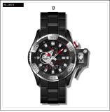 Wristwatch механически людей нержавеющей стали вахты швейцарца спорта способа Speical