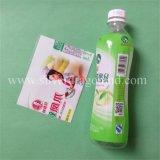Étiquette de rétrécissement de PVC pour l'emballage mis en bouteille de boisson