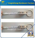 Nickelplattierung-Band-Maß Keychain