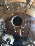 """18 """"Porta de Manway de Acesso à Pressão de Forma Circular com Vidro de Visão de Tipo de Flange"""