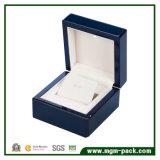 Коробка ювелирных изделий главного лака рояля изготовленный на заказ деревянная