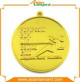 Medalha do metal do logotipo do projeto da promoção