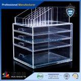 高品質の安い価格の昇進のギフトのゆとりのプラスチックアクリルの構成の装飾的なオルガナイザーボックス