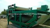 Máquina de desecación Dewaterer del espesante de las prensas filtrantes de la correa de la máquina de las aguas residuales