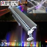 Wand-Unterlegscheibe-Licht der hohen Helligkeits-27*3W RGB der Farben-LED mit wasserdichtem IP65