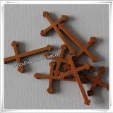 Bella piccola traversa di legno religiosa cristiana (IO-cw013)