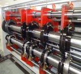 Máquina automotriz de impressão e enrugamento e corte de folhas onduladas automáticas