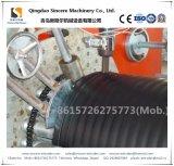 HDPE PPの熱い巻上げの技術の空の壁の構造の管の生産機械