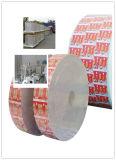 Materiais laminados usando-se para o empacotamento asséptico