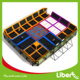 for Sale Indoor Trampoline Court with Foam Pit and Basketball