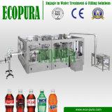 Gekohlte Getränk- (CSD)Flaschenabfüllmaschine-/Gas-Getränkefüllende Zeile (3-in-1 DHSG18-18-6)