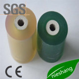 철사와 케이블을%s 녹색 PVC 뻗기 포장 필름