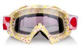 Occhiali di protezione elettrici ultravioletti personalizzati di motocross di notte