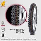 Bewegungsteil-Zubehör-Motorrad-Reifen Yt-209 Tt250-17 Guangzhou-Baiyun