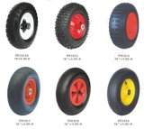 Rotella di gomma poco costosa di alta qualità e di prezzi con l'orlo d'acciaio o di plastica, l'aria o disponibile pianamente libero