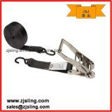1 Inch S Hook Polyester Cargo Ratchet Lashing Strap (personalizado)