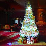 بالجملة عيد ميلاد المسيح زخرفة [120كم] /150cm/ 180 [كم] تشفير بيضاء ثلج [180كم] [كريستمس تر] مع [فريوو] شريكات و [لد] ضوء