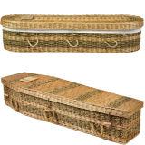 Cascalho Oval Bmaboo ecológico para enterro verde ou cremação