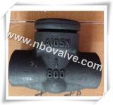 Выкованный задерживающий клапан Socket Weld для Industry (H21H)
