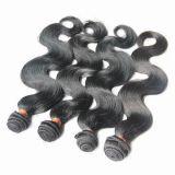 ボディ波のインドにRemyのバージンのHumaの毛の編むこと