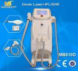 皮の若返り(MB810D)のための毛の取り外しIPL Machine&Diodeレーザー