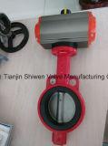 Pneumatischer Stellzylinder-Oblate-Typ Drosselventil