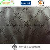 Подкладка Jacqured полиэфира поставкы фабрики для ткани подкладки износа Casusl куртки костюма