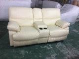 Qualitäts-weiches Gefühls-Lederrecliner-Sofa, felsiges Sofa (Y988)