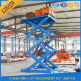 2ton 2.2m Lager Scissor hydraulisches Gewicht-Hebezeug mit Cer