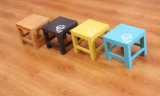Solid Wooden Colorful Stool (M-X2136)