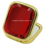 Espelho redondo bonito do estojo compato da composição para a venda