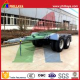 Double Axles Drawbar Dolly Trailer para Tractor / Semi Trailer Conectando