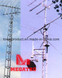 Antena Lattice Tower e Pole para Telecom Network