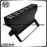 24x1W Wireless energía la luz con pilas del LED