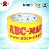 Personalizado impreso BOPP cinta adhesiva de embalaje