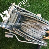 Ворот кабельной проводки, ручная лебедка