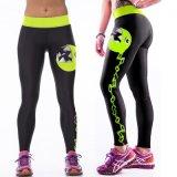 새로운 형식 다색 여자 3D 인쇄 Legging 높은 허리 체조 요가 운영하는 스포츠 바지 좋은 품질 저가